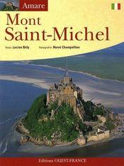 Aimer le mont Saint-Michel - Couverture - Format classique
