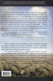 Retis galactica t.1 ; le monolithe noir - 4ème de couverture - Format classique