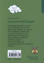 Le secret de Fort Boyard - 4ème de couverture - Format classique