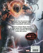 Avengers ; l'encyclopédie des super héros - 4ème de couverture - Format classique