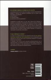 Guide de la publicité foncière (édition 2016) - 4ème de couverture - Format classique