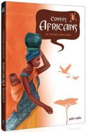Contes africains en bandes dessinées - Couverture - Format classique