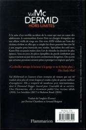 Hors limites - 4ème de couverture - Format classique
