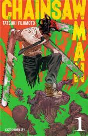 Chainsaw man T.1 - Couverture - Format classique