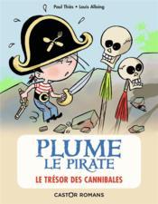 Plume le pirate ; le trésor des cannibales - Couverture - Format classique