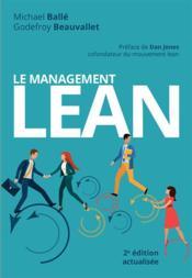 Le management lean (2e édition) - Couverture - Format classique