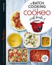 Le batch cooking au cookeo, c'est facile ! - Couverture - Format classique