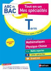 ABC DU BAC TOUT-EN-UN ; mathématiques/physique-chimie : terminale (édition 2021) - Couverture - Format classique