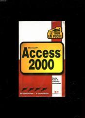 Le Tout En Poche Access 2000 - Couverture - Format classique