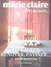 Restaurer, Renover, Patiner... - Intérieur - Format classique