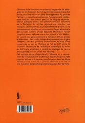 Devenir peintre au XIX siècle ; Baudry, Bouguereau, Lenepveu - 4ème de couverture - Format classique