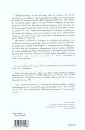 Migrations et diasporas mediterraneennes (xe-xvie siecles) - 4ème de couverture - Format classique