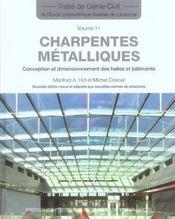 Charpentes metalliques-traites de genie civil volume 11 - Intérieur - Format classique