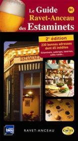 Guide Ravet-Anceau des estaminets (2e édition) - Couverture - Format classique