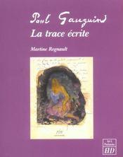 Paul Gauguin, La Trace Ecrite - Intérieur - Format classique