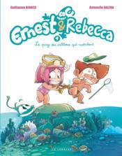 Ernest & Rebecca T.4 ; le pays des cailloux qui marchent - Couverture - Format classique