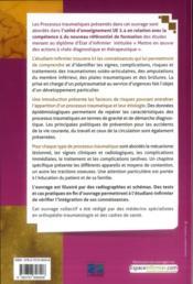 Processus traumatiques 2e ed - ue 2.4 nouveau referentiel - 4ème de couverture - Format classique
