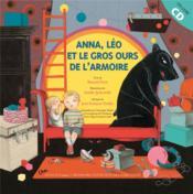 Anna, Léo et le gros ours de l'armoire - Couverture - Format classique
