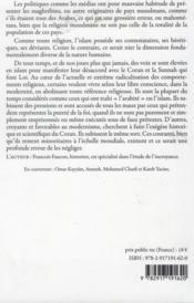Kufr, mécréances et hérésies en terre d'islam - 4ème de couverture - Format classique