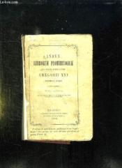 Index Librorum Prohibitorum Sanctissimi Domini Nostri Gregorii Xvi. - Couverture - Format classique