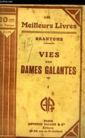 Vies Des Dames Galantes - Tome 1 - Couverture - Format classique