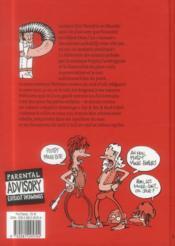 Sex & sex & rock'n roll ; le dictionnaire du rock'n'roll ouvertement sexuel - 4ème de couverture - Format classique