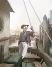 Théodore Poussin ; portfolio - Couverture - Format classique