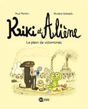 Kiki et Aliène T.3 ; camping sauvage - Couverture - Format classique