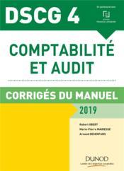 DSCG 4 comptabilité et audit (édition 2018/2019) - Couverture - Format classique