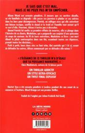 Blood orange - 4ème de couverture - Format classique
