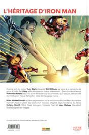 The invincible Iron Man T.2 ; à la recherche de Tony Stark t.2 - 4ème de couverture - Format classique