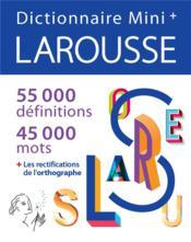 Dictionnaire Larousse mini + (édition 2021) - Couverture - Format classique