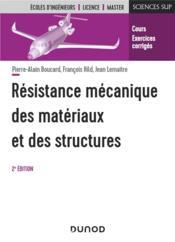 Résistance mécanique des matériaux et des structures (2e édition) - Couverture - Format classique