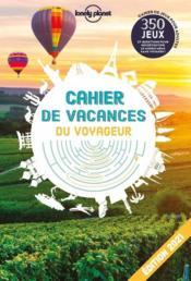 Cahier de vacances du voyageur (édition 2021) - Couverture - Format classique