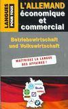 Allemand Economique Et Commercial