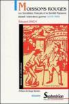Moissons rouges ; les socialistes français et la société paysanne durant l'entre-deux-guerres (1918-1940)