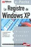 Le Registre De Windows Xp