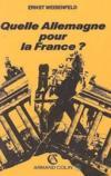 Quelle Allemagne Pr La France