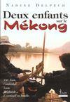 Deux Enfants Sur Le Mekong