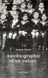 Autobiographie D Un Enfant