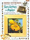 Mini Vitrines Decorees Avec Des Serviettes En Papier