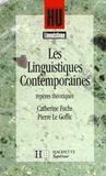 Hu Linguistique ; Les Linguistiques Contemporaines ; Repères Théoriques