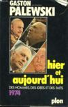 Hier Et Aujourd'Hui, 1974