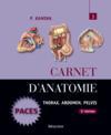 Carnet d'anatomie t.3 (2e édition)
