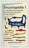 Encyclopédie t.1