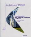 Les Cahiers Du Gridauh N.18 ; L'Environnement Dans Le Droit De L'Urbanisme En Europe