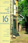 Guide promeneur 16e arrondis