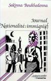 Journal nationalité : immigré(e)