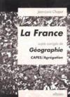 La france - sujets corriges de geographie