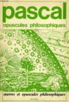 Opuscules Philosophiques